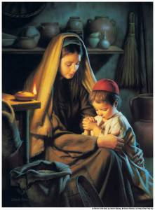 Jesus-Praying-Mother-mormon