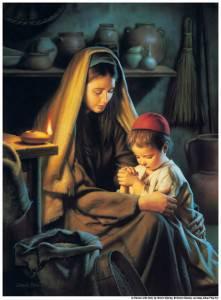 Jesus-Praying-Mother-mormon