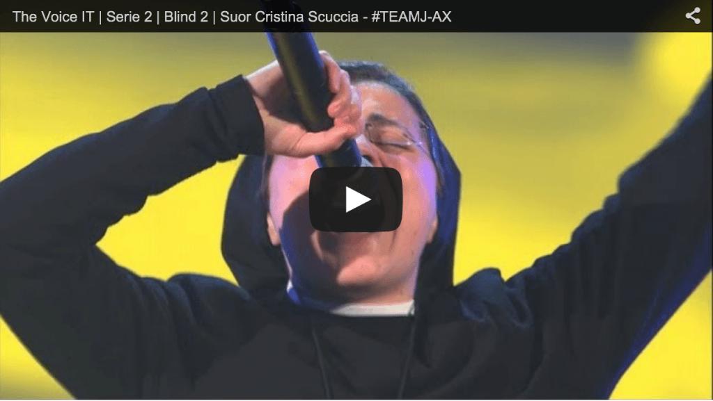 Quando una Suora Canta fa il Record di Visualizzazioni su Youtube! (VIDEO)