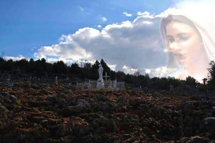 Il Primo Miracolo sulla collina delle apparizioni a Medjugorje.