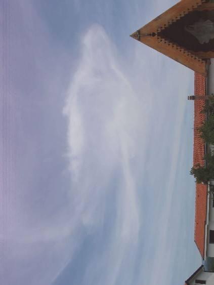 foto da Medjugorje :Maria nel cielo di medjugorje