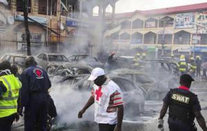 Bomb blast in Abuja