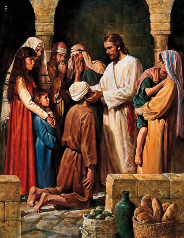 Marco 1, 21-28 - La guarigione di un indemoniato dans immagini sacre Lucas-11-14-23