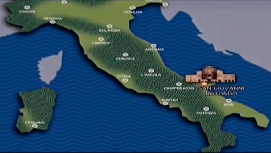 Santuario di Padre Pio di San Giovanni Rotondo (FG) – (VIDEO)