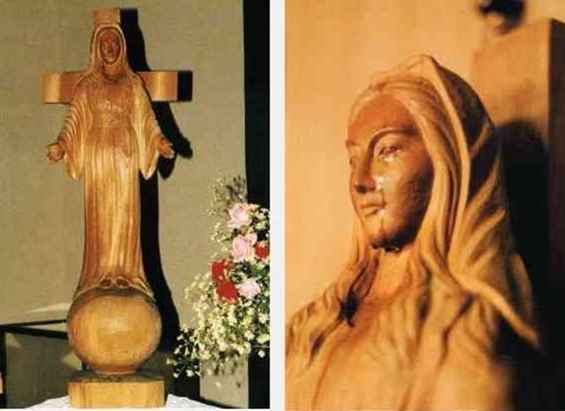 """La Madonna, """"svela il futuro dell'umanità"""" (Apparizioni Akita Giappone)"""
