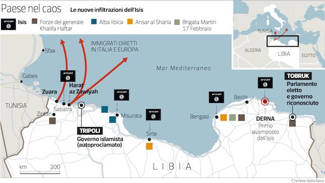 libia-mappa-cartina-tobruk-tripoli-stato-islamico-italia-corriere-k