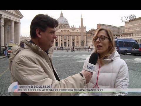 Un minuto durato un'Eternità. Monia prega un'Ave Maria con Papa Francesco