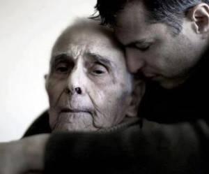L'anziano al figlio