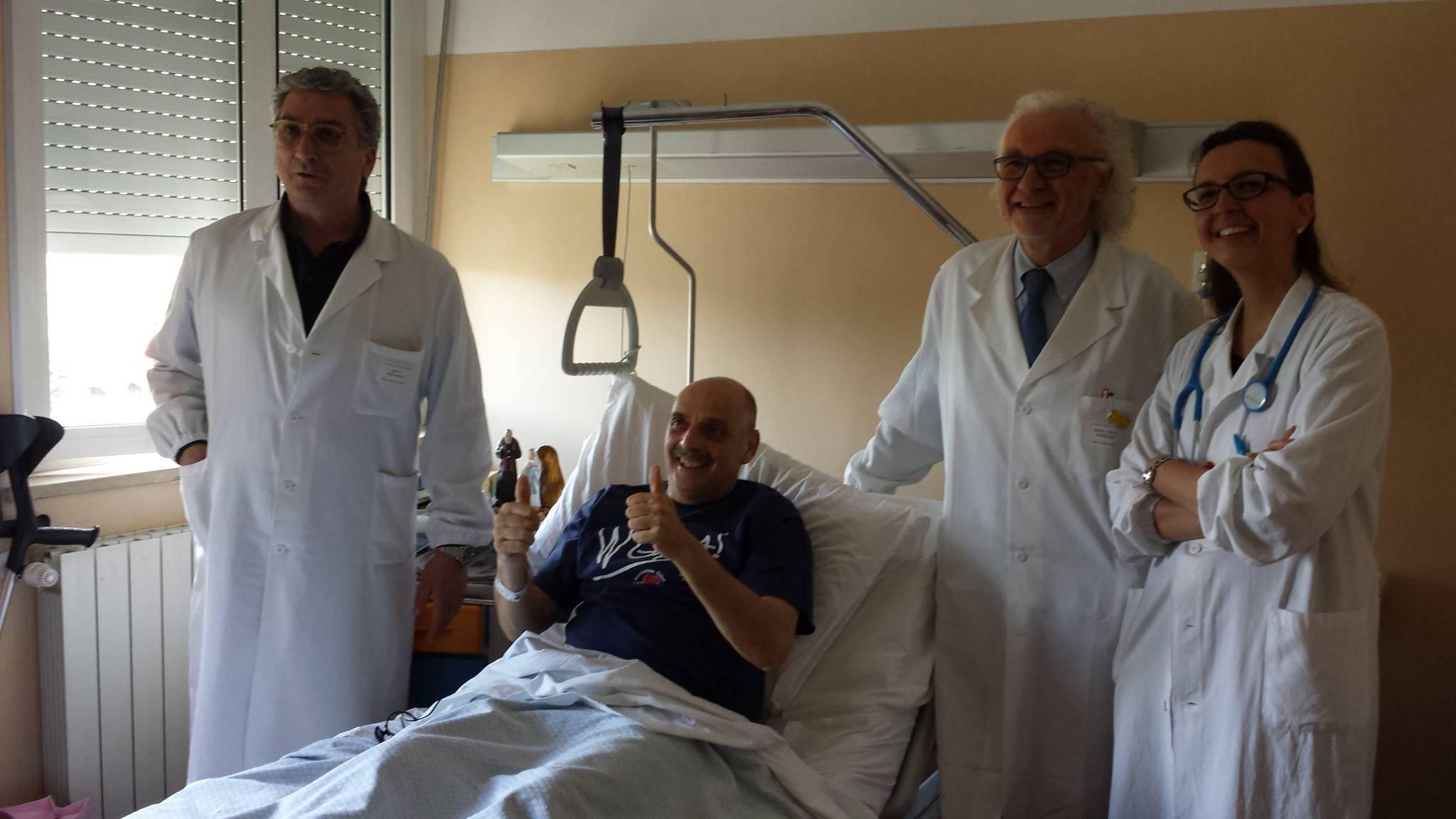 Paolo Brosio Miracolato e Guarito da 2 Tumori… VIDEO