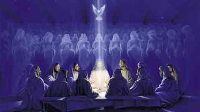 Risultati immagini per spirito santo immagini