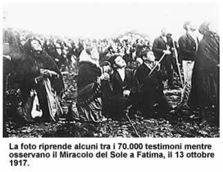 Un Ateo assiste al Miracolo del sole a Fatima. 13 Ottobre 1917 ecco il suo racconto.