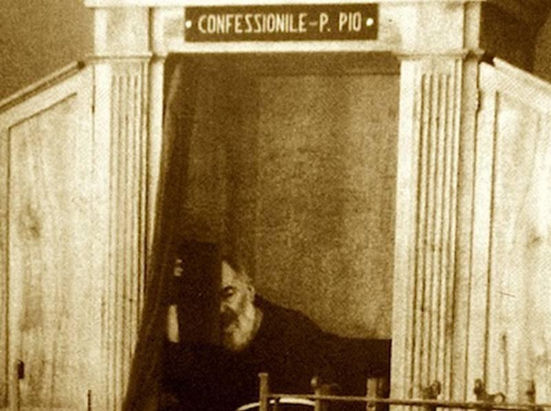 confessionale-padre-pio