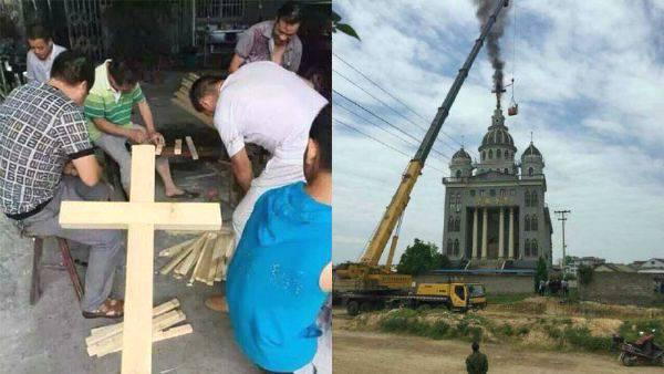 """Cina: """"Costruisci e porta la croce"""""""