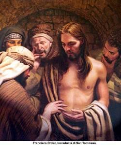 Tommaso un incredulo o un cercatore della fede.