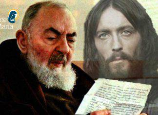 padre pio visioni Gesù