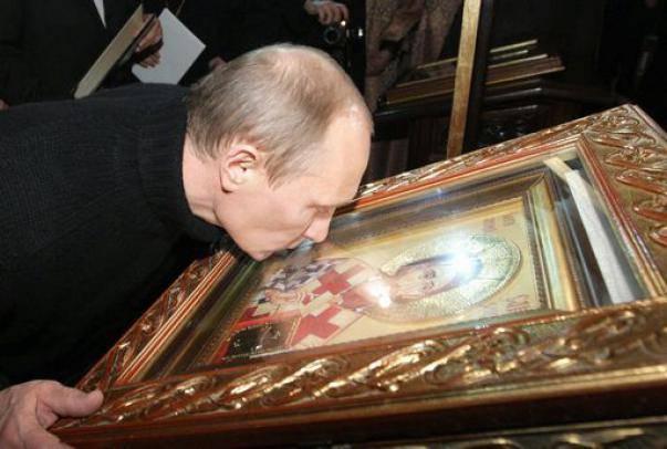 Putin-bacio-icona