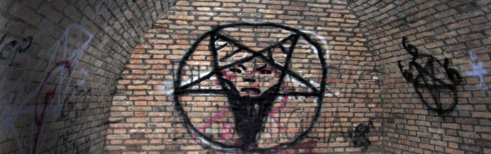 Nel bosco delle fate ci troviamo satana.