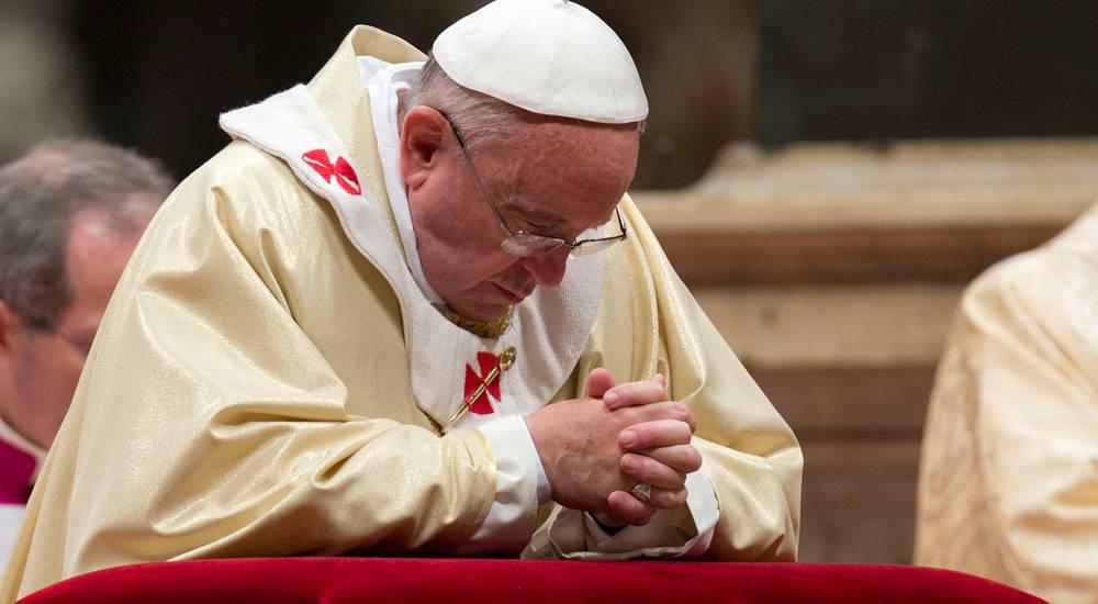 """Papa Francesco: """"Questo è un attacco alla Pace dell'umanità"""""""