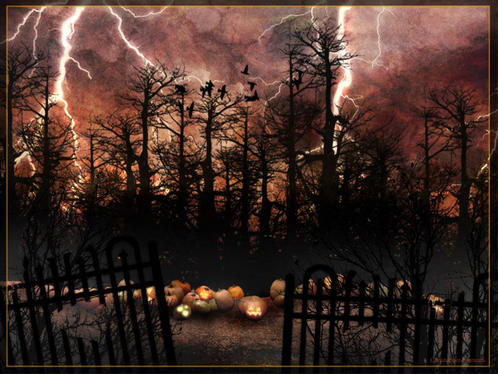 happy-halloween-lightening-forest-31000