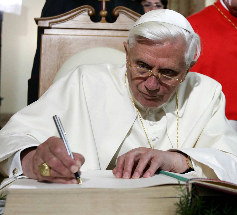 ansa - papa ratzinger -