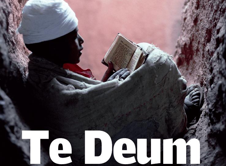 Uniamoci al canto del Te Deum insieme con tutta la chiesa.Video