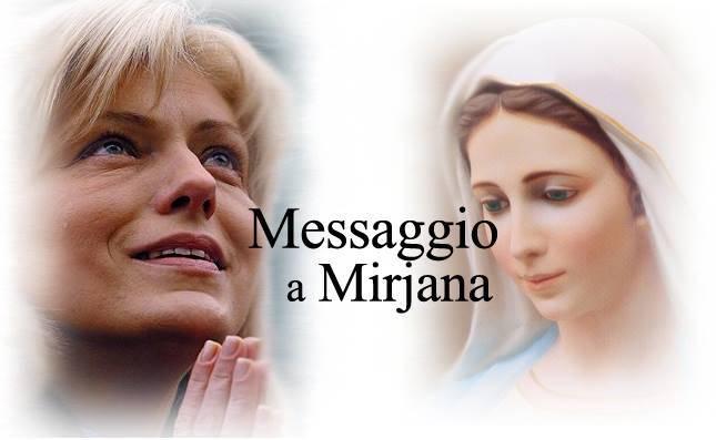 Medjugorje: Il primo messaggio del 2016 dato alla veggente Mirjana.