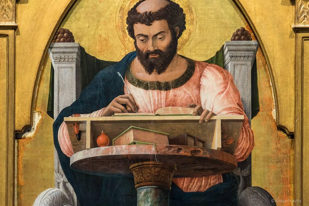Sapevate che l'Evangelista Luca riposa a Padova.