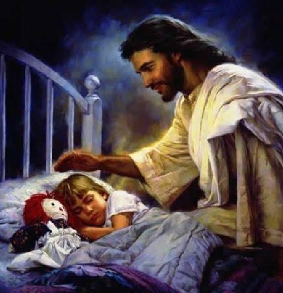 Preghiera per proteggere il nostro riposo veglia su di - Stampabile la preghiera del signore ...