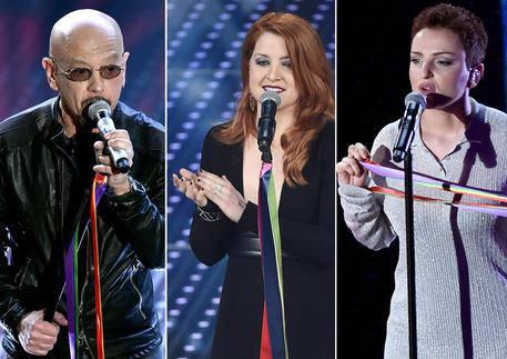 combo Sanremo Ruggeri, Noemi e Arisa