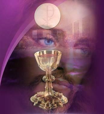 Gesù-volto-ostia-calice-sfondo-viola