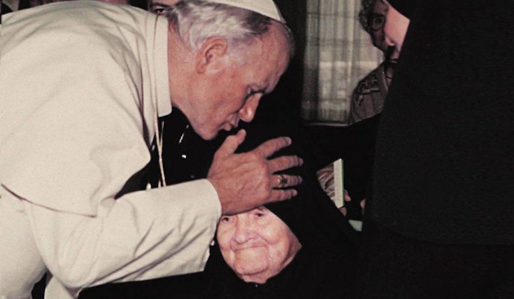 Madre Speranza e Papa Giovanni Paolo II