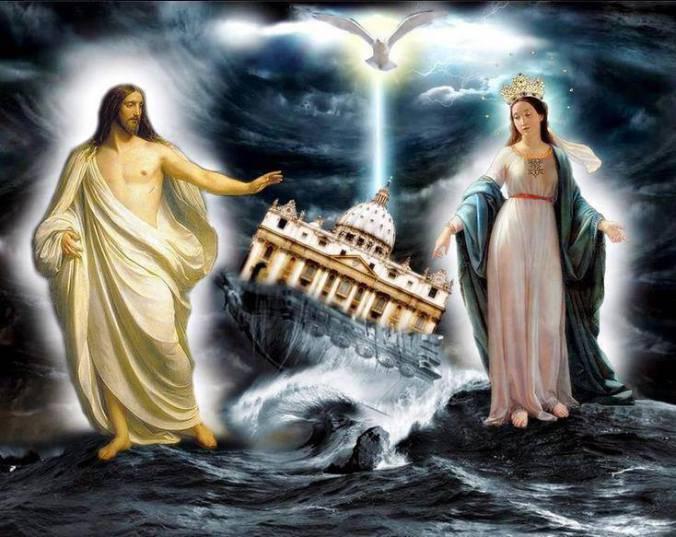 Risultati immagini per Profezie: Ecco le tenebre che stanno scendendo su Roma