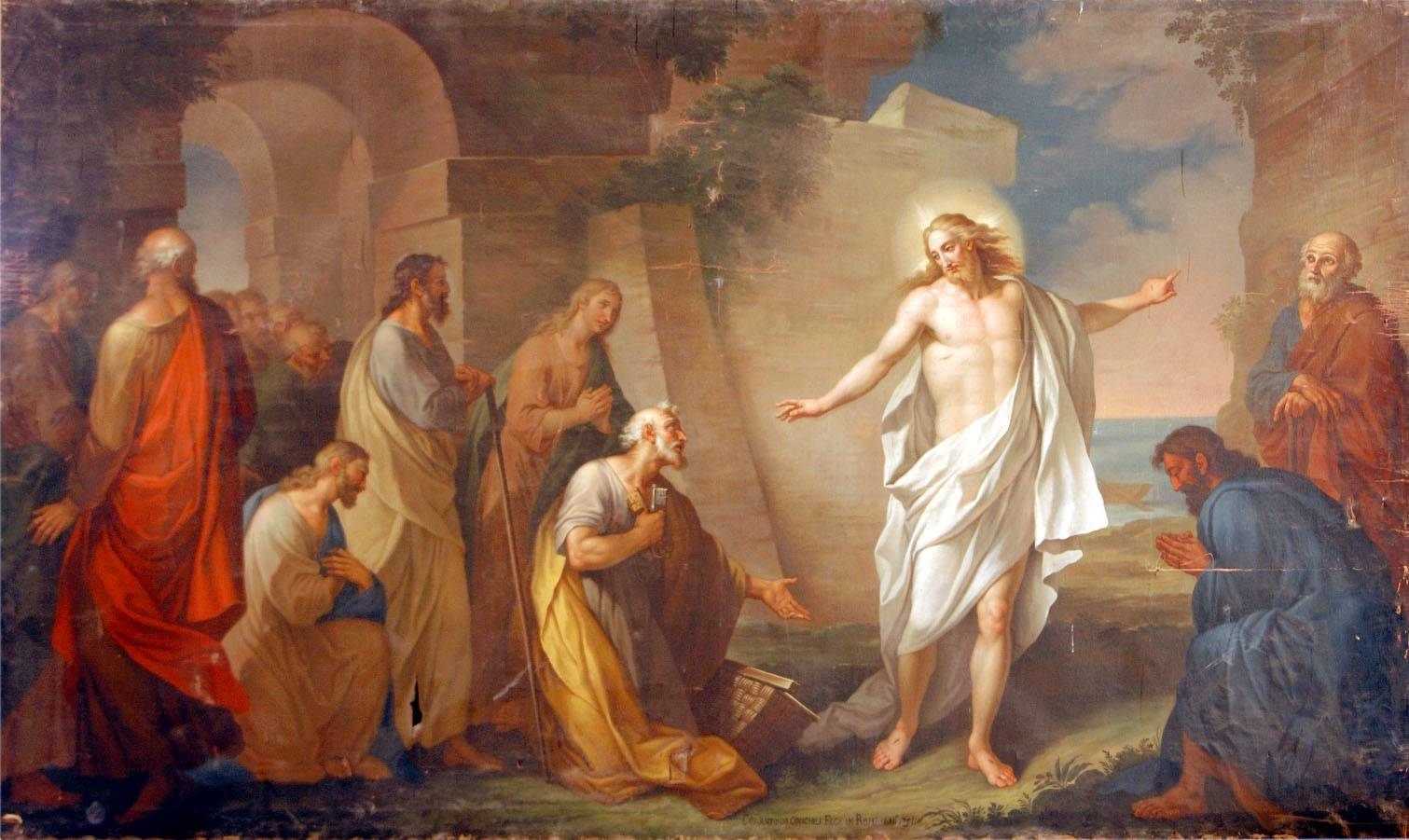 La parola del giorno dal vangelo secondo marco 16 9 15 for Piani di luce del giorno