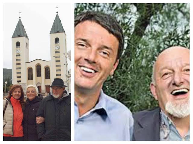 Il papà di Renzi ogni anno va a Medjugorje . Allora c'è speranza…..