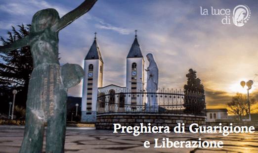 La preghiera di guarigione e liberazione del 09 08 2016 da Medjugorje