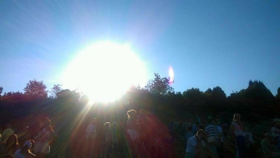 Foto Straordinaria scattata a Medjugorje il 2 Luglio 2016.