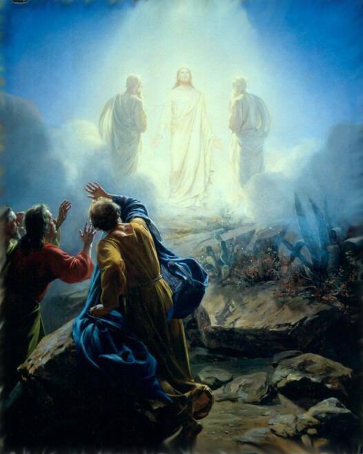JESÚS - TRANSFIGURACIÓN DEL SEÑOR - trasfigurazione1