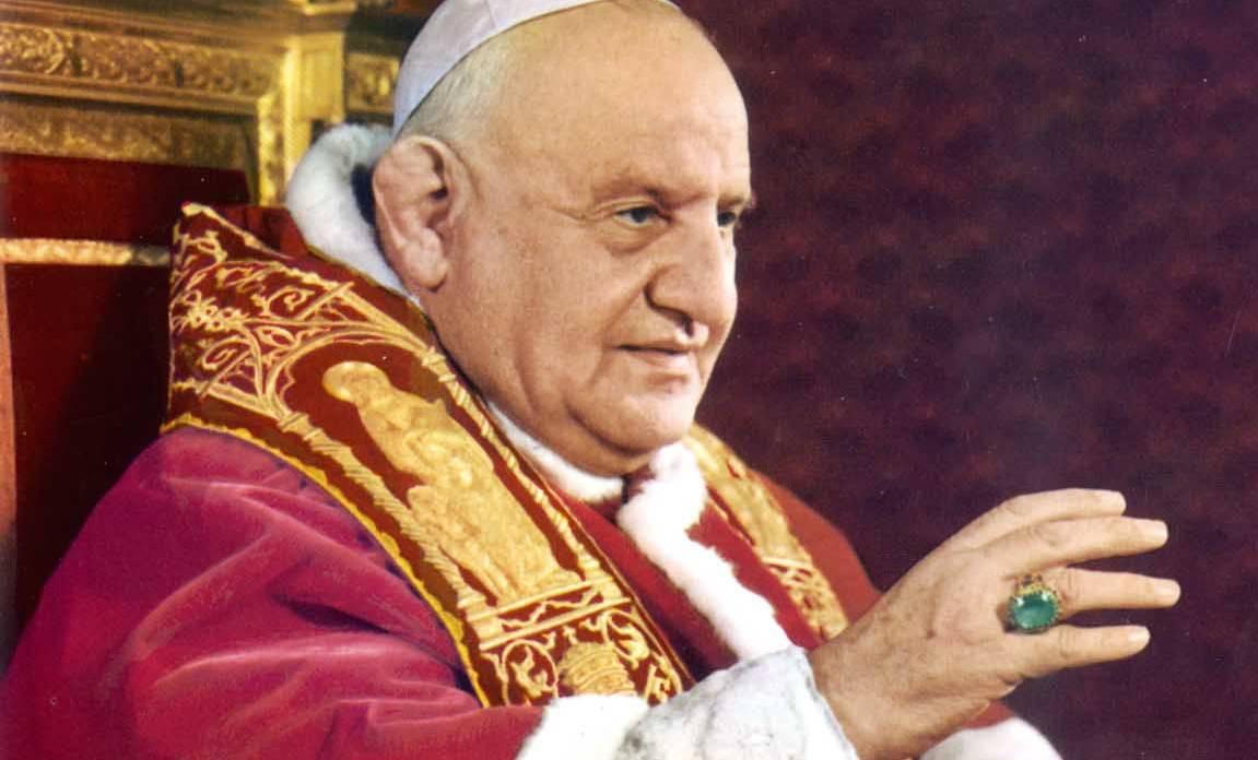 Il Papa Buono ci ricorda la presenza di Dio anche nelle catastrofi.