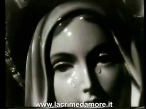 La Più famosa lacrimazione della Madonna. (Video eccezionale)