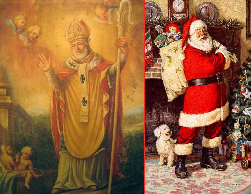SAN NICOLA: Lui è il vero Babbo Natale