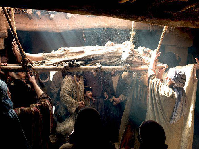 La Parola del Giorno dal Vangelo secondo  Marco 2,1-12.