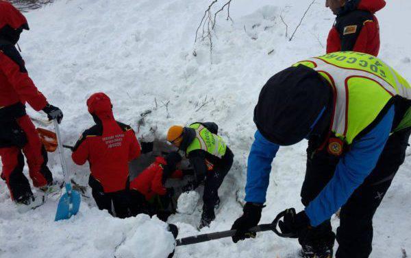 Sei persone vive sotto 4 metri di neve un Miracolo