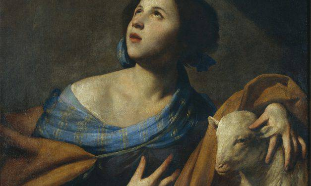 S. Agnese, giovanissima vergine e martire