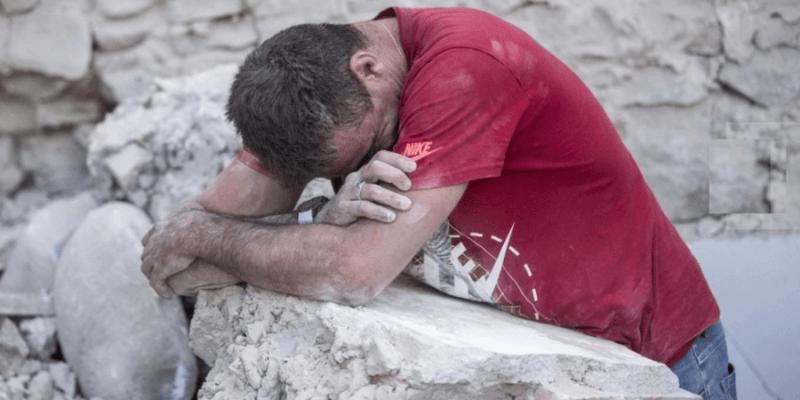 Preghiera nel tempo del terremoto