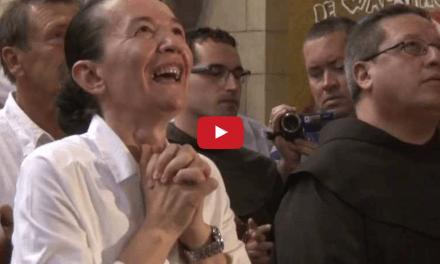 Ecco il Video dell'Apparizione di Maria a Nazareth alla presenza del Vescovo della diocesi