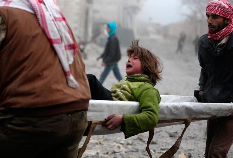 Vittime innocenti in Siria