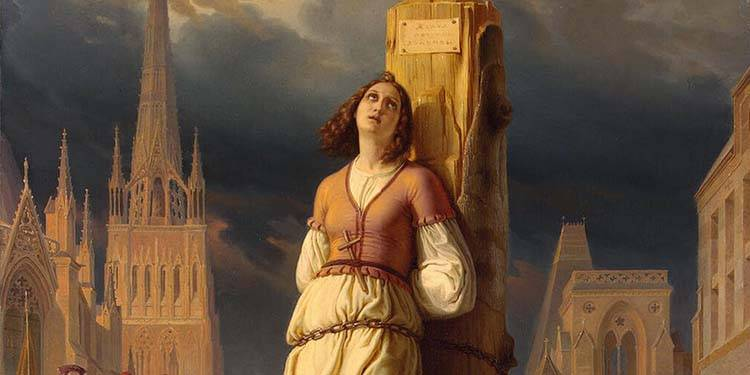 Oggi celebriamo Santa Giovanna d'Arco