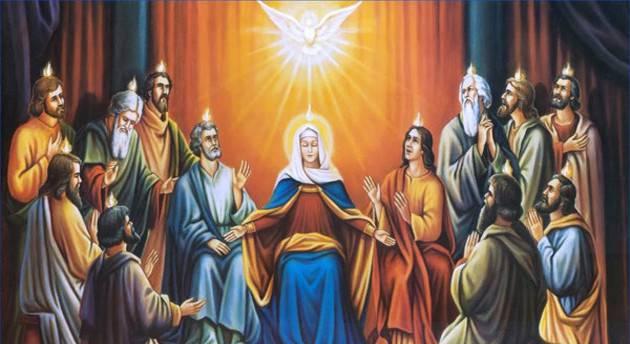 Cosa accade durante la celebrazione di Pentecoste?