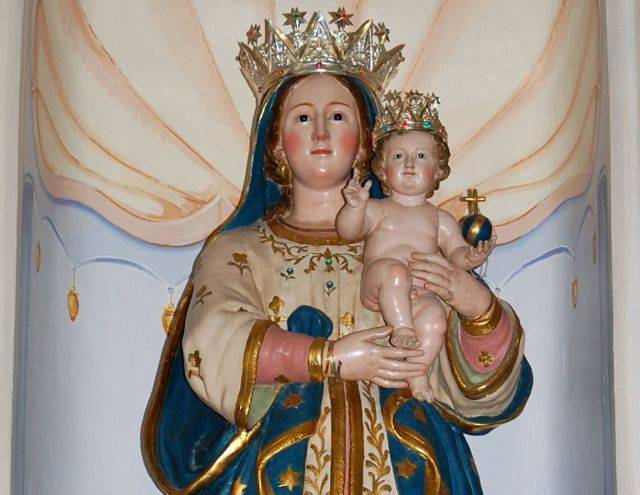 Se apri il mio cuore ci trovi la Madonna delle Grazie