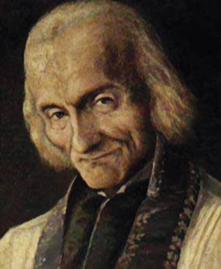 Oggi celebriamo il Curato d'Ars, San Giovanni Maria Vianney